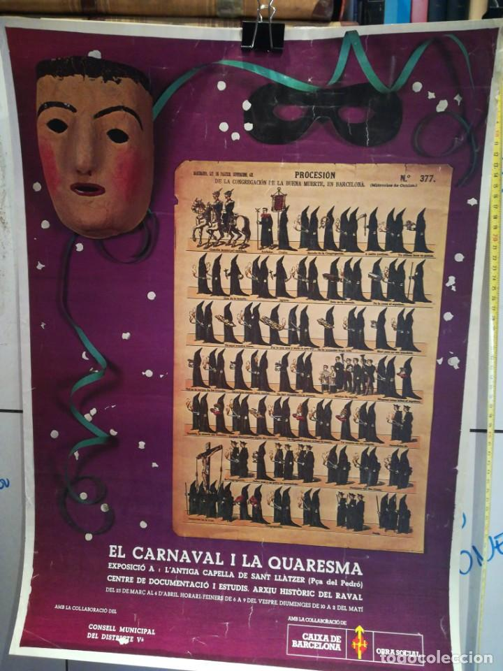 LAMINA EL CARNAVAL I LA QUARESMA (Coleccionismo - Laminas, Programas y Otros Documentos)