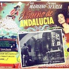 Coleccionismo: CARMEN SEVILLA. EL SUEÑO DE ANDALUCÍA.POSTER. Lote 279406253