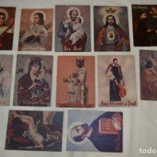 Coleccionismo: CRUZ ROJA ESPAÑOLA, AÑOS 40 / 50 - 12 DONATIVOS ASAMBLEA PROVINCIAL DE BARCELONA - ¡MIRA! LOTE 01. Lote 280797078
