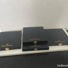 Coleccionismo: CAJAS MADERA VACÍAS FABER CASTELL. Lote 280956033