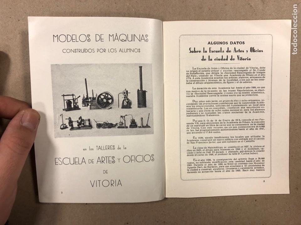 Coleccionismo: EXPOSICIÓN PERMANENTE INDUSTRIAS ALAVESAS. AÑOS 20. LIBRETO CON ÍNDICE PRODUCTORES ALAVESES - Foto 3 - 282563468