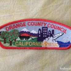 Coleccionismo: PARCHE ORANGE COUNTY COUNCIL CALIFORNIA BSA ( 13 CMTOS). Lote 283730488