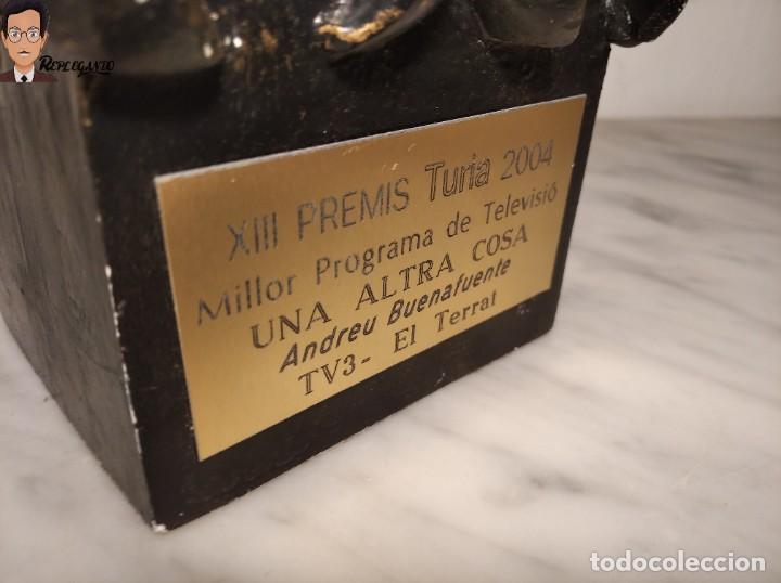 Coleccionismo: PREMIO / TROFEO TURIA 2004 - ANDREU BUENAFUENTE - MEJOR PROGRAMA TV - UNA ALTRA COSA / TV3 / TERRAT - Foto 3 - 286501768