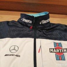 Coleccionismo: CHAQUETA NUEVA TEAM F1 WILLIAMS MARTINI RACING MERCEDES TALLA L. Lote 286748913