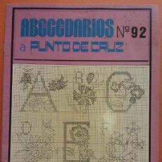 Collezionismo: ABECEDARIOS A PUNTO DE CRUZ. Nº92. EDICIONES MARCEL LYSS.. Lote 287487253