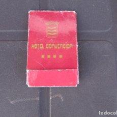 Coleccionismo: COSTURERO HOTEL CONVENCION MADRID. Lote 288124413