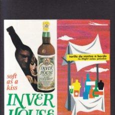 Coleccionismo: IBERIA - TARIFA VENTAS A BORDO / 1968. Lote 288146008