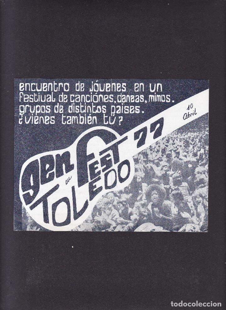TOLEDO - FESTIVAL 1977 (Coleccionismo - Varios)