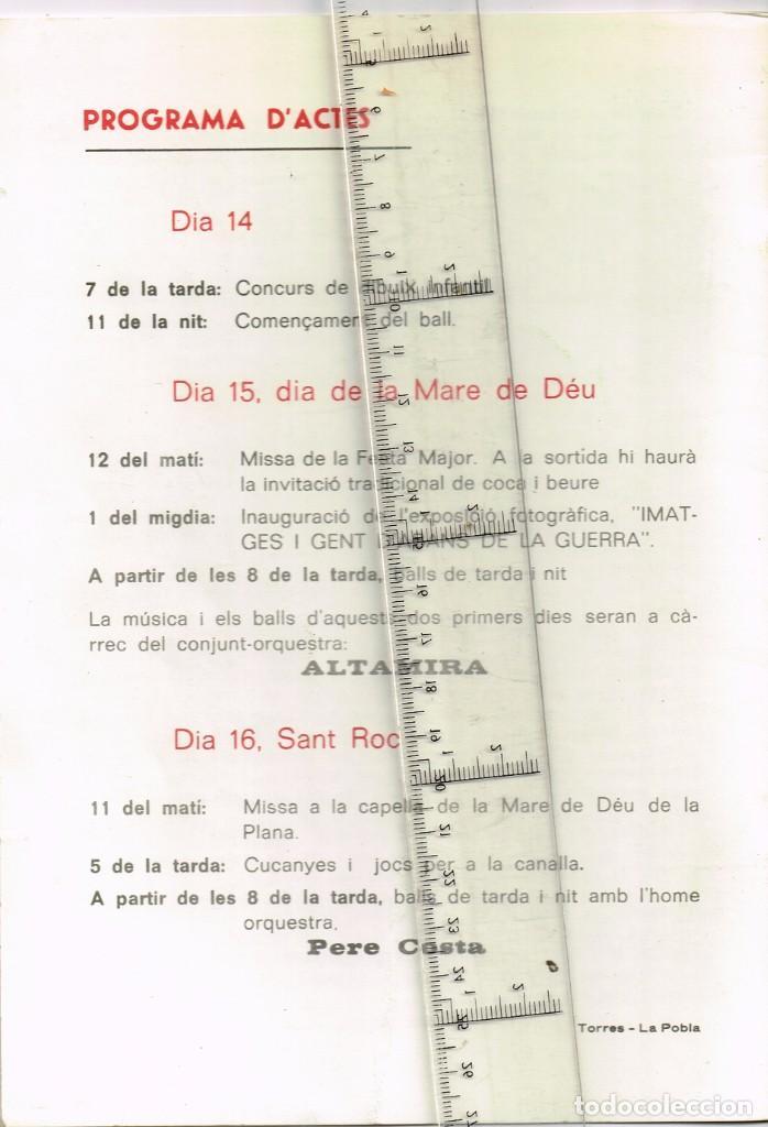 Coleccionismo: 1982 PESSONADA Festa Major - Imatges i Gent d´Abans de la Guerra. Histories Pintoresques Antigues - Foto 2 - 288659048