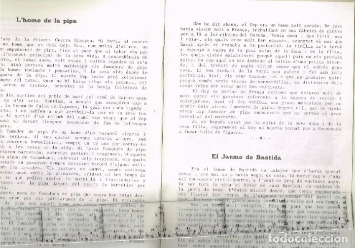 Coleccionismo: 1982 PESSONADA Festa Major - Imatges i Gent d´Abans de la Guerra. Histories Pintoresques Antigues - Foto 3 - 288659048