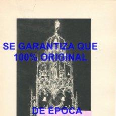 Coleccionismo: SAHAGUN LEON MONASTERIO DE SAN BENITO CUSTODIA GOTICA HUECOGRABADO 240X170 MM E46. Lote 289498553