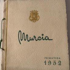 Coleccionismo: PUBLICACIÓN DE MURCIA - AÑO 1952 - FIESTAS DE PRIMAVERA - NUMEROSA PUBLICIDAD DE ÉPOCA. Lote 289501048