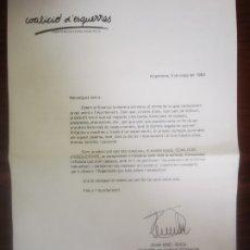 Coleccionismo: COALICIÓ D'ESQUERRES ARGENTONA 1983. Lote 289505083