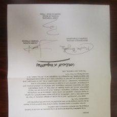 Coleccionismo: COALICIÓ D'ESQUERRES ARGENTONA 1983. Lote 289506108