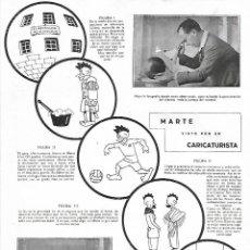 Coleccionismo: AÑO 1924 RECORTE PRENSA DIBUJO CARICATURA MARTE VISTO POR EL CARICATURISTA K-HITO K HITO. Lote 289893748