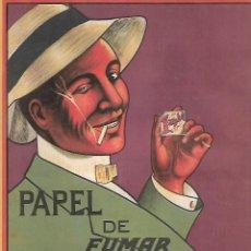 Coleccionismo: AÑO 1924 RECORTE PRENSA PUBLICIDAD PAPEL DE FUMAR BAMBU TABACO. Lote 289895538