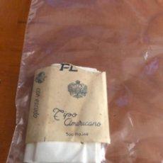 Coleccionismo: ANTIGUO PAQUETE DE TABACO FLOR TIPO AMERICANO CON ESCUDO 500 HOJAS. Lote 290063608