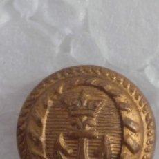 Coleccionismo: BOTONES METÁLICOS MARINOS 10 PIEZAS. Lote 292416673
