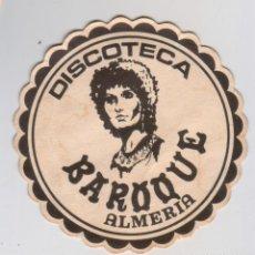 Collezionismo: DISCOTECA PARQUE (ALMERIA) - ANTIGUO POSAVASOS - AÑOS 80-90. Lote 294568638