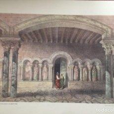 Coleccionismo: SERIE MONUMENTOS EN EL MONASTERIO DE BENEVIVERE ELÉXPURU HERMANOS S.A. BILBAO. Lote 295644278