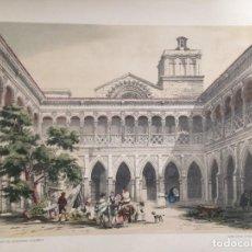 Coleccionismo: SERIE MONUMENTOS CLAUSTRO DEL MONASTERIO DE HUERTA ELÉXPURU HERMANOS S.A. BILBAO. Lote 295644438