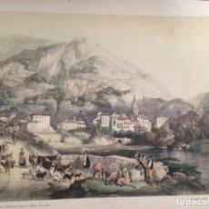 Coleccionismo: AZPEITIA EN GUIPUZCOA DESDE EL CAMINO DE TOLOSA ELÉXPURU HERMANOS S.A. BILBAO. Lote 295644938