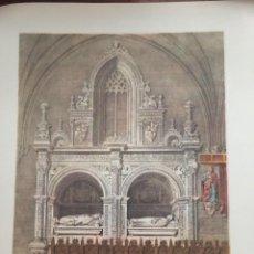 Coleccionismo: SEPULCRO DE LA CAPILLA DE LOS REYES NUEVOS CATEDRAL DE TOLEDO ELÉXPURU HERMANOS S.A. BILBAO. Lote 295646258