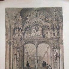 Coleccionismo: VISTA INTERIOR DE LA PUERTA SANTA CATALINA CATEDRAL DE TOLEDO ELÉXPURU HERMANOS S.A. BILBAO. Lote 295646368