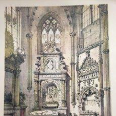 Coleccionismo: CAPILLA SAN ILDEFONSO EN LA CATEDRAL DE TOLEDO ELÉXPURU HERMANOS S.A. BILBAO. Lote 295646568