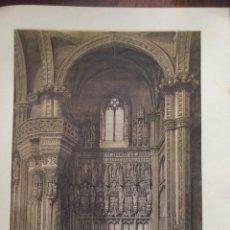 Coleccionismo: INTERIOR DE SAN JUAN DE LOS REYES TOLEDO ELÉXPURU HERMANOS S.A. BILBAO. Lote 295647028