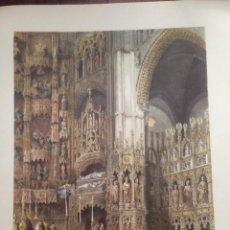 Coleccionismo: CAPILLA MAYOR DE LA CATEDRAL TOLEDO ELÉXPURU HERMANOS S.A. BILBAO. Lote 295647268
