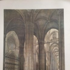 Coleccionismo: INTERIOR DE LA NAVE LATERAL DE LA CATEDRAL DE SEVILLA ELÉXPURU HERMANOS S.A. BILBAO. Lote 295647633