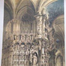 Coleccionismo: ALTAR LLAMADO EL TRANSPARENTE CATEDRAL DE TOLEDO ELÉXPURU HERMANOS S.A. BILBAO. Lote 295648203