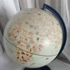 Coleccionismo: GLOBO TERRAQUEO DISCOVERY FAUNA MUNDIAL. Lote 295708033
