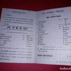 Coleccionismo: PROGRAMA CENTRE LLEMOSI SANTA FE F. CASTELLVI & CIA 1912. Lote 295708263