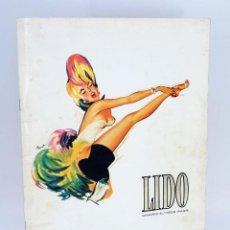 Coleccionismo: LIDO : COCORICO ! ( PROGRAMA CATALOGO DEL FAMOSO CABARET DE PARIS, AÑO 1976 ) INCLUYE POSTER. Lote 296742233