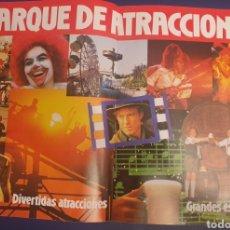 Coleccionismo: PROGRAMA PARQUE DE ATRACCIONES DE MADRID AÑO 1987 ROCIO JURADO BERTIN OSBORNE MOCEDADES SERRAT DYANG. Lote 296905258