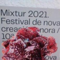 Coleccionismo: MIXTUR 2021. PROGRAMA. (A4). Lote 297099658
