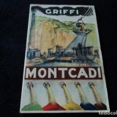 Coleccionismo: MATERIALES HIDRAULICOS GRIFFI-MONTCADI. Lote 297104213