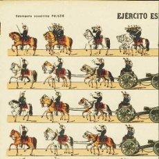 Coleccionismo Recortables: RECORTABLE DE SOLDADOS: EJERCITO ESPAÑOL. ARTILLERIA (ED.PALUZIE NUM. 165). APROX.AÑOS 1920. Lote 4055802