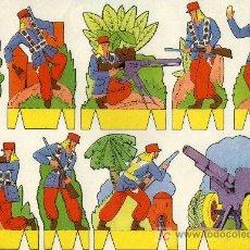 Coleccionismo Recortables: RECORTABLE PEPI SERIE SOLDADOS Nº 1 EDIT. ROMA. Lote 4611628
