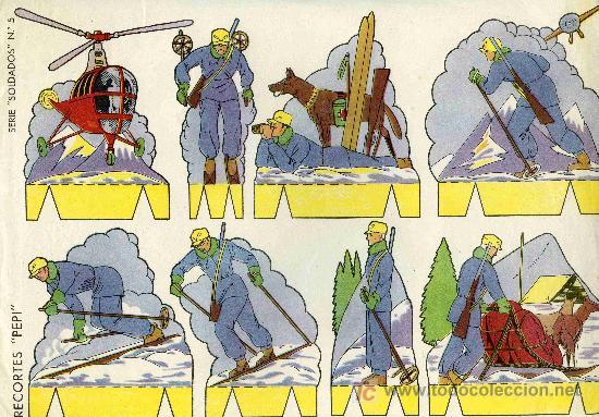 RECORTABLE PEPI SERIE SOLDADOS Nº5 EDIT. ROMA (Coleccionismo - Recortables - Soldados)