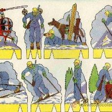 Coleccionismo Recortables: RECORTABLE PEPI SERIE SOLDADOS Nº5 EDIT. ROMA. Lote 4611641