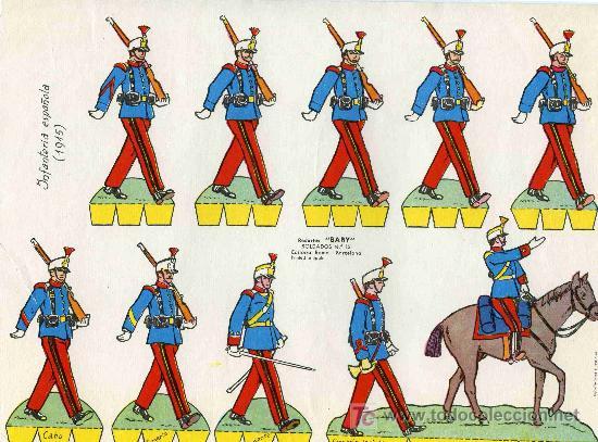 RECORTABLE BABI SERIE SOLDADOS Nº 13 EDIT. ROMA (Coleccionismo - Recortables - Soldados)