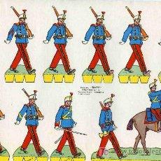 Coleccionismo Recortables: RECORTABLE BABI SERIE SOLDADOS Nº 13 EDIT. ROMA. Lote 4611722