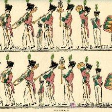 Coleccionismo Recortables: RECORTABLE ELS SOLDATS, Nº 9 DOMINGO NUBELL HAY 4 TIRAS DE SOLDADOS 45X34 CTS. MUY ANTIGUO. Lote 4713015