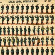 Coleccionismo Recortables: RECORTABLE PALUZIE EJERCITO ESPAÑOL SERIE D- Nº 251. Lote 4713320