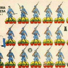 Coleccionismo Recortables: RECORTABLE BRUGUERA INFANTERIA FRANCESA 1.916. Lote 4714359