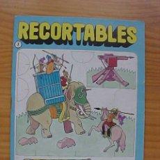 Coleccionismo Recortables: ROMANOS. EDITORIAL BRUGUERA, COLEC RECORTABLES Nº 7, 1984. Lote 8630163
