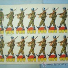 Coleccionismo Recortables: RECORTABLE -SOLDADOS N. 7 --1970---KIKI-LOLO-. Lote 27041381